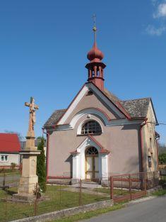 Vyšehoří kaple sv.Jana Nepomuckého
